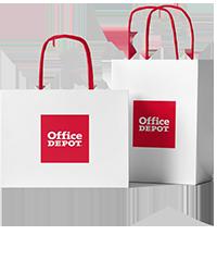 Office Depot papperskassar